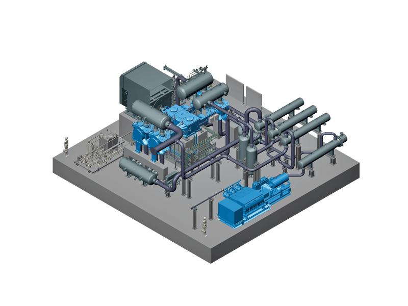 Carbon capture storage plant